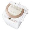 シャープ洗濯機「穴なし槽」(全自動・乾燥付き)の口コミ評判まとめ